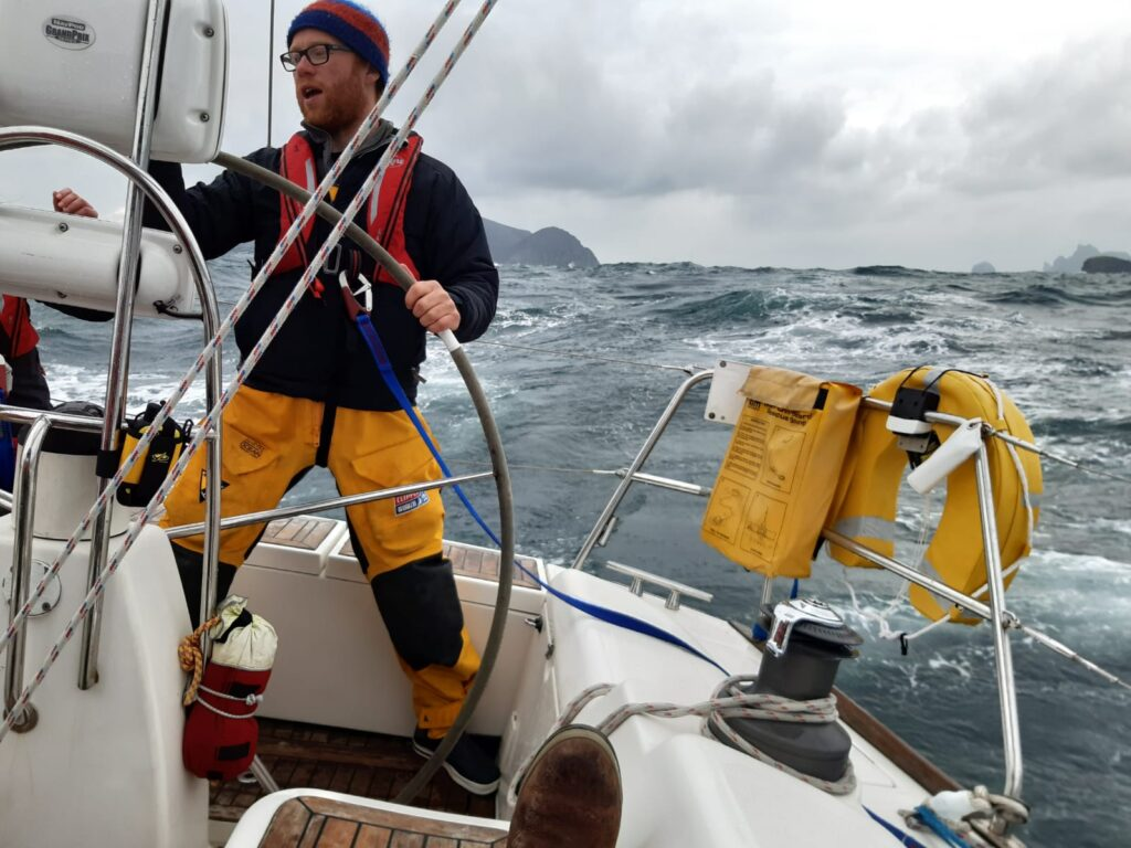 Tough Going in the Rathlin to St Kilda Challenge